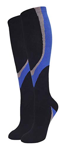 High Performing Womens Compression Socks | Sweat Proof & Breathable for All Activities- Workout Gear, Nursing Supplies | Support Socks: For Blood Circulation & Pain Relief LCM0