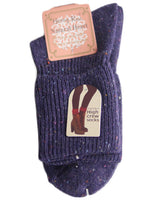 Meso Girl's 2 Pairs Wool Knee High Crew Socks Size 7-9