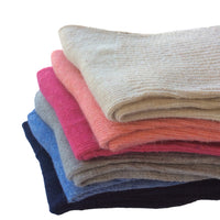 Meso Children 6 Pairs Pack Wool Socks Plain Color 3 Sizes 0Y-6Y