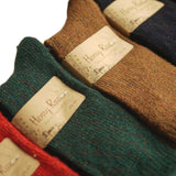 Meso Women's 6 Pairs Pack Thick Streatcheable Multicolored Crew Socks(6 Colors)