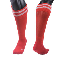 Lian LifeStyle Unisex 1 Pair Knee Length Sports Socks Striped XS/S/M