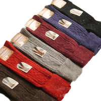 Meso Women's 6 Pairs Pack Knee Length Wool Socks Size 7-9 6 Six Colors (Wine,Gray,Coral,Purple,Black,Brown)