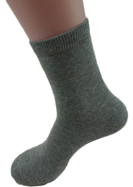 Meso Men's 1 Pair Extra Thick Cashmere Wool Socks Plain Color Size 9-11