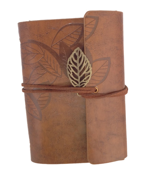Meso Leather Cover Loose Leaf Blank Notebook Journal Diary
