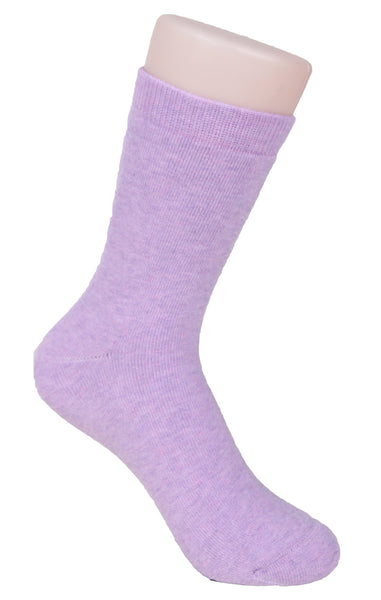 Lovely Annie Women's 1 Pair Thick Cashmere Wool Socks Solid Color Size 7-9