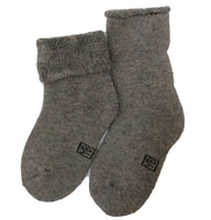 Lian LifeStyle Children's 3 Pairs Cashmere Wool Socks Plain Color 3 Sizes
