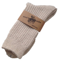 Meso Women's 1 Pair Knitted Wool Socks One Size 7-10