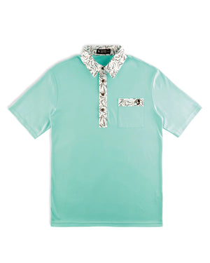 Load image into Gallery viewer, Beachcomber Hard Collar Golf Shirt