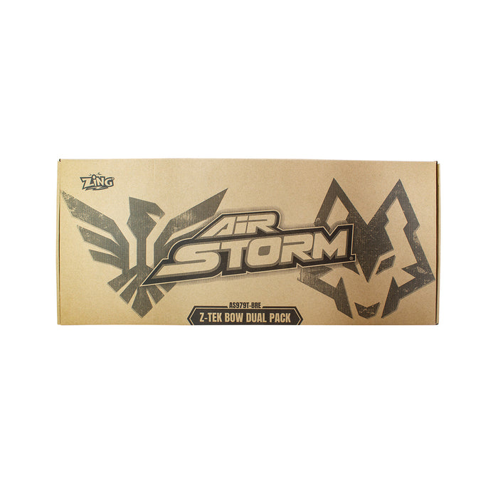 Zing Toys Air Storm Z-TEK Bow DUAL PACK Archery set