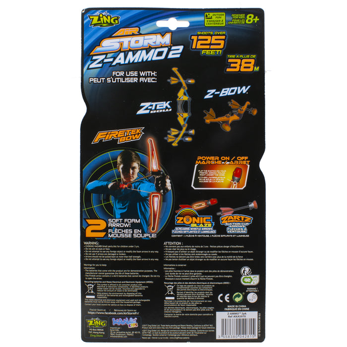 Z-Ammo Air Storm - 3 Pack