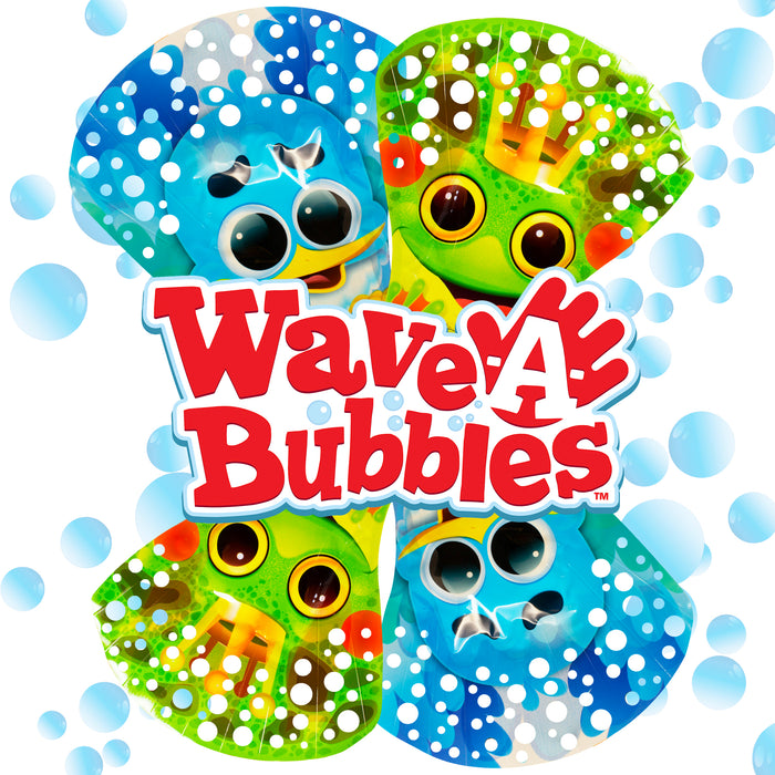 Wave-A-Bubble Series 2 (Pack of Four)