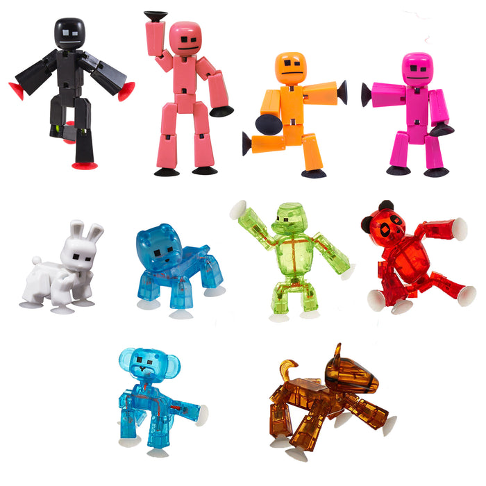 Stikbot Family Plus Animals Pack