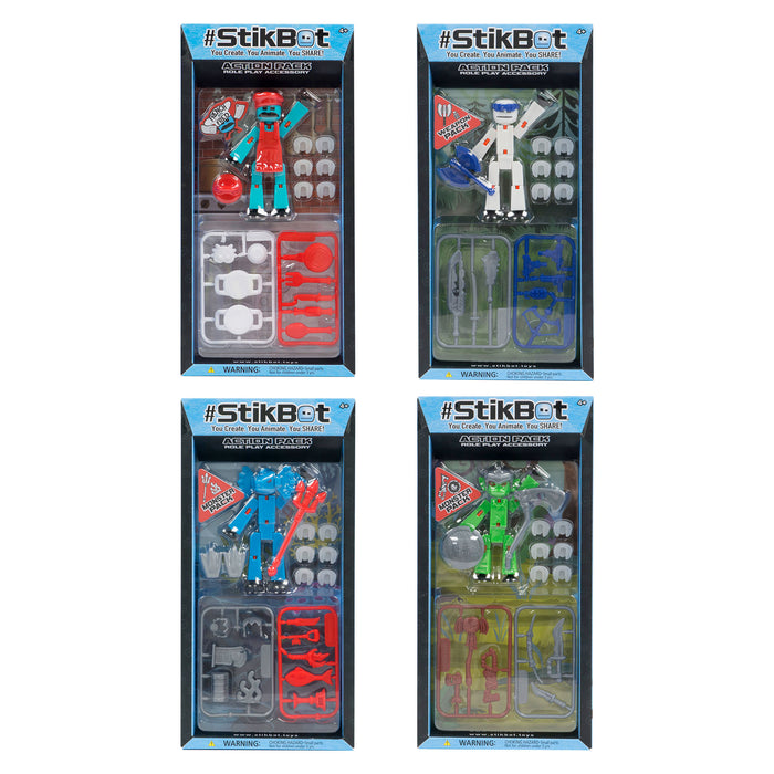 Stikbot Action Pack - Series 4