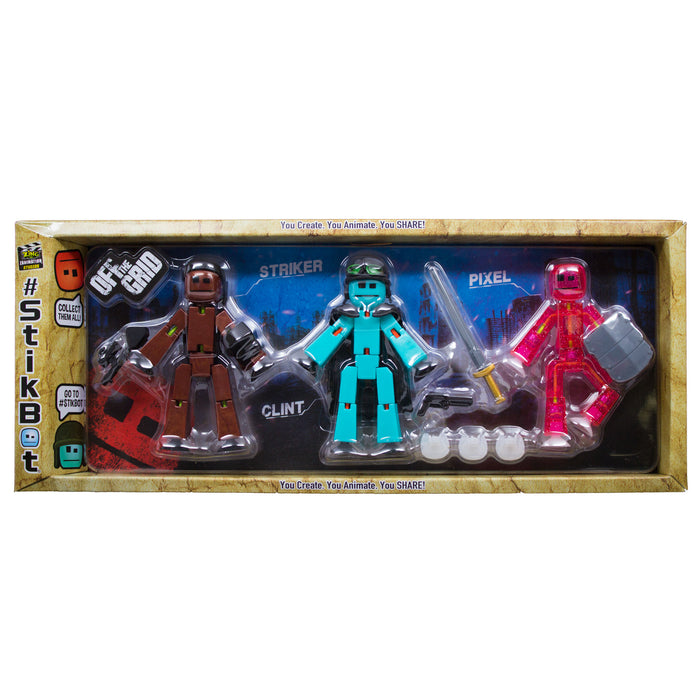 Stikbot Off the Grid - 2 pack