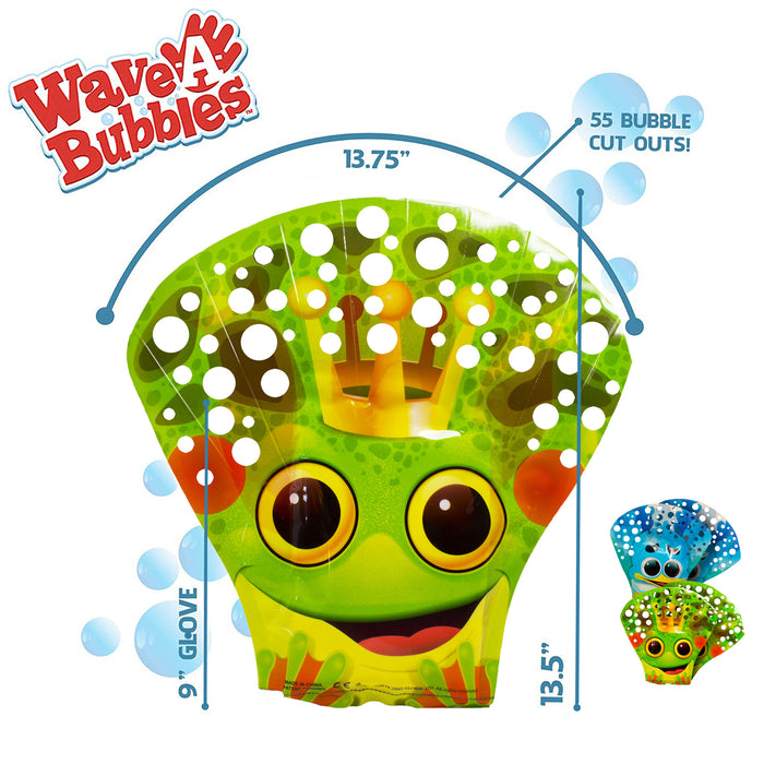 4 x Wave-A-Bubbles