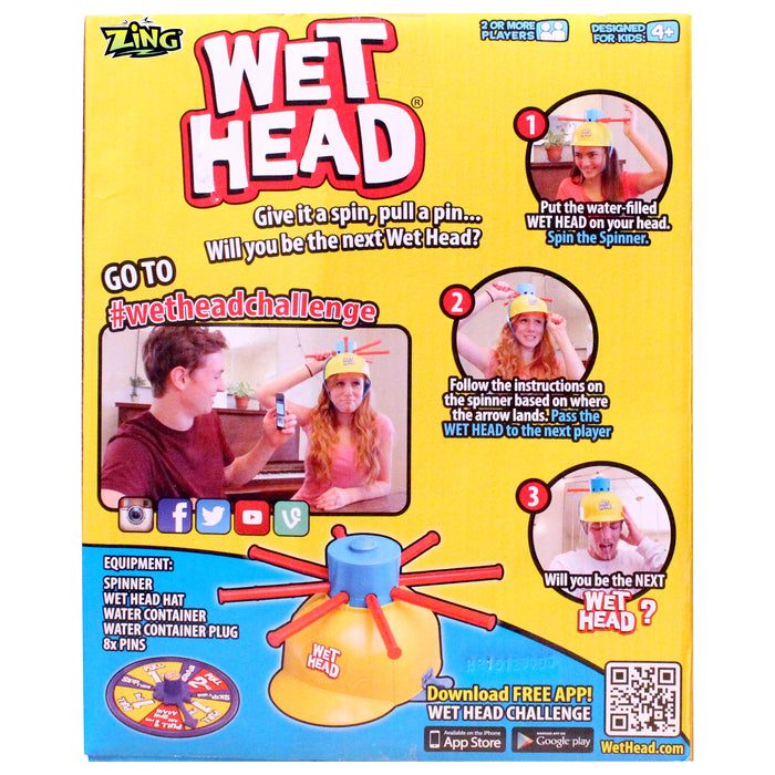 Dual Wet Head Water Roulette Game - 2 for  $24.99