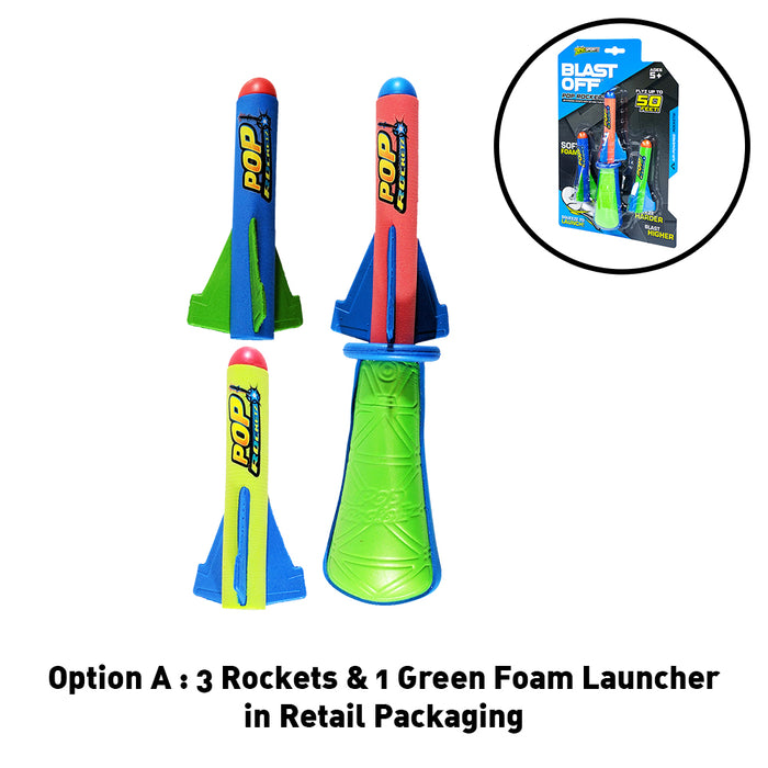 Zing Blast Off Pop Rocketz