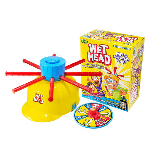 Game - 6 Wet Head Water Roulette Game - Case Pack Of 6