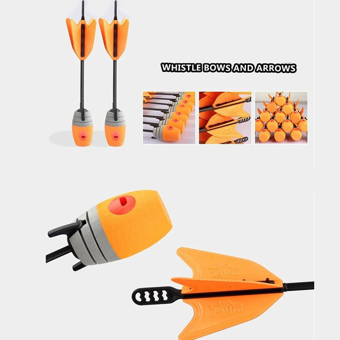 10 Units Extra Arrows Refills Whistle Arrows Orange