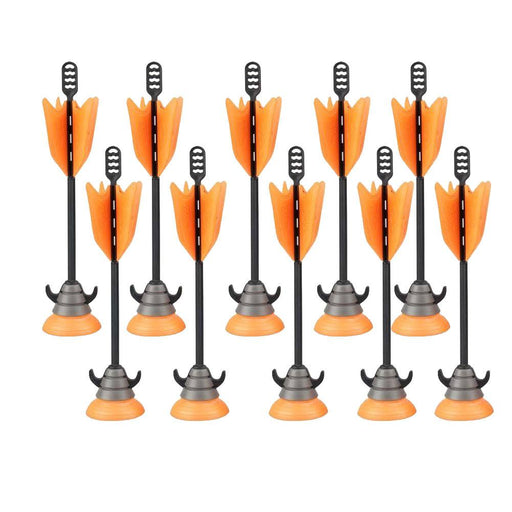 Sport Toys - 10 Units Extra Suction Cup Arrows - Orange