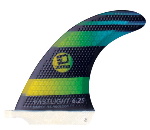 "Surfboard Fins - FASTLIGHT 6.25"" Hexcore Single Fin"