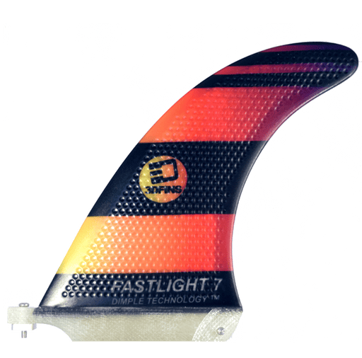 "Surfboard Fins - FASTLIGHT 7"" Hexcore Single Fin"
