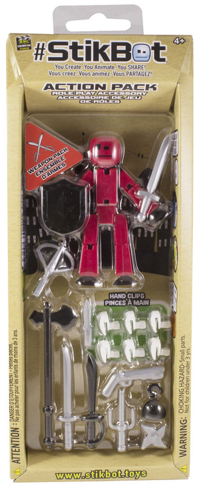 Toy Figures - 5 Styles Stikbot Action Pack - 5 For $39.99