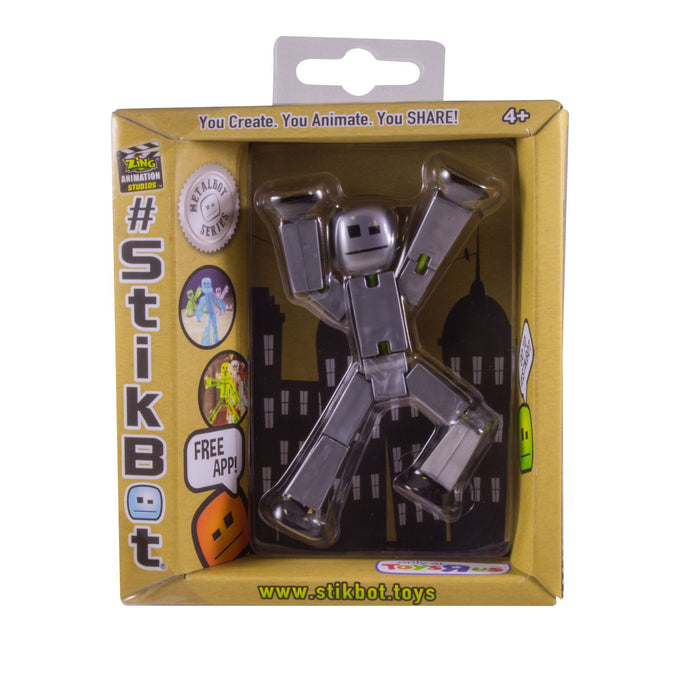 Toy Figures - Stikbot - Metalbots