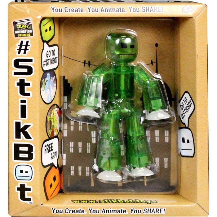 Green Stikbot - Translucent