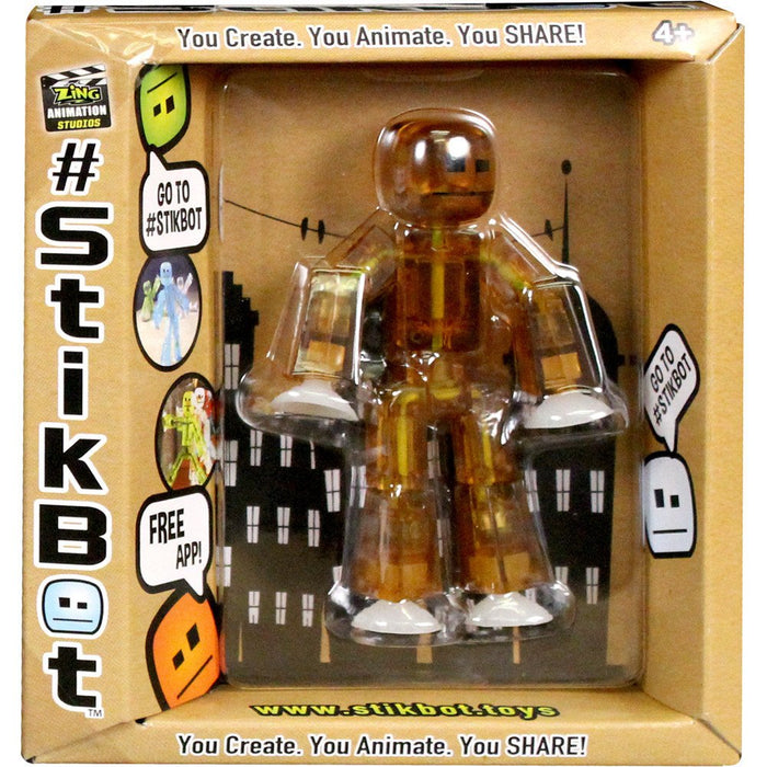 Brown Stikbot - Translucent