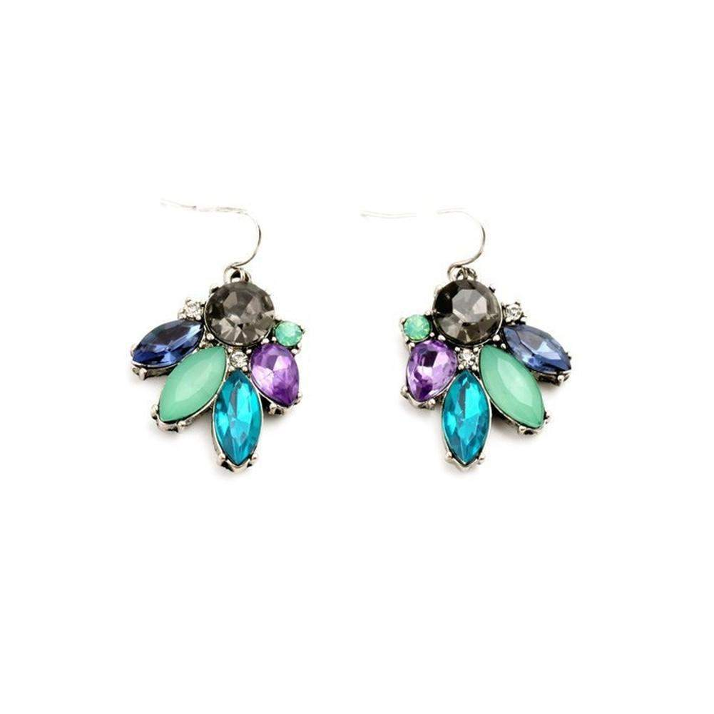 dorlan vintage on swarovski colourful d crystal products clip orlan drop earrings