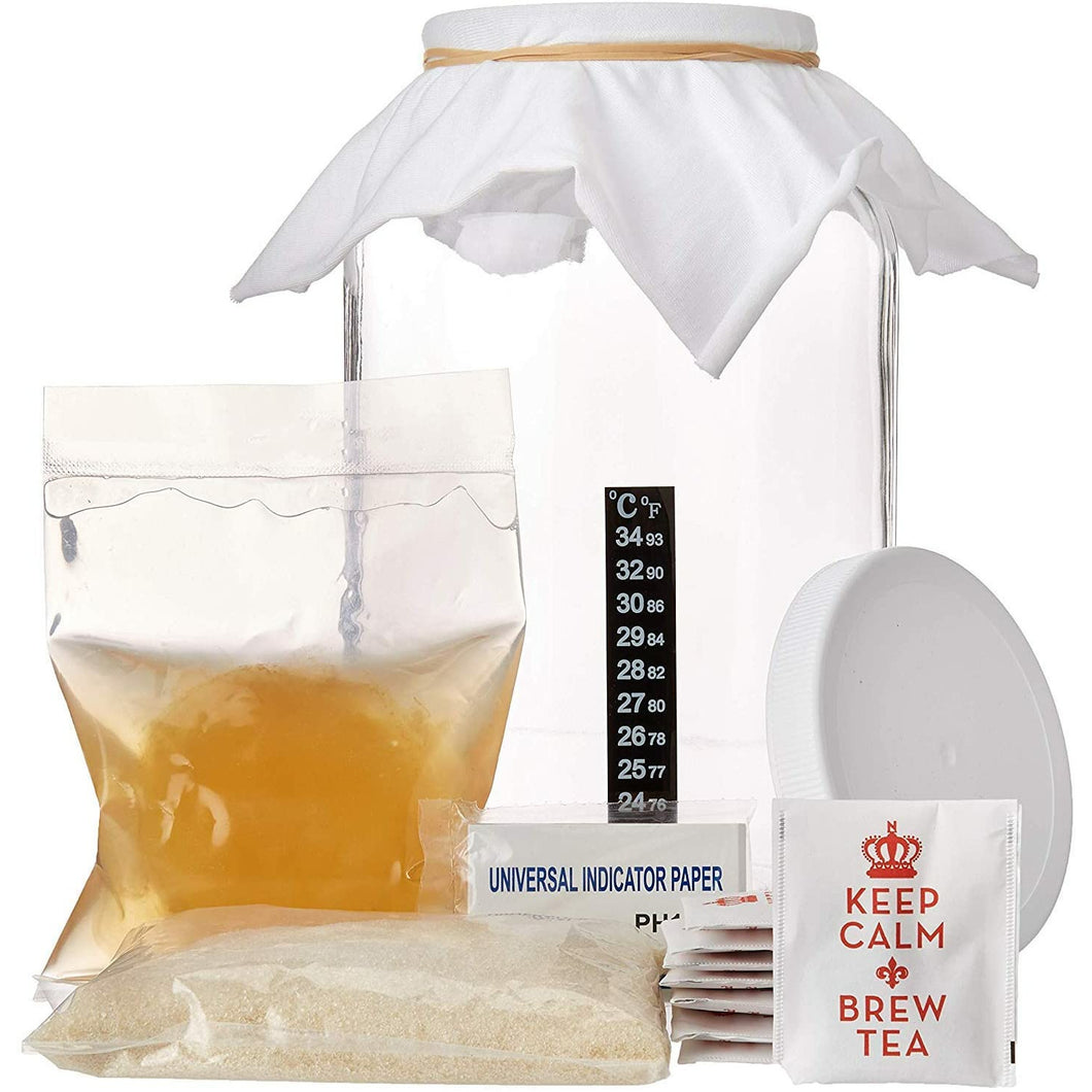 The Complete Kombucha Brewing Kit