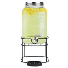 Load image into Gallery viewer, 2 Gallon Beverage Dispenser with Stand