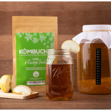 Load image into Gallery viewer, Live Kombucha SCOBY Starter Culture with Starter Tea