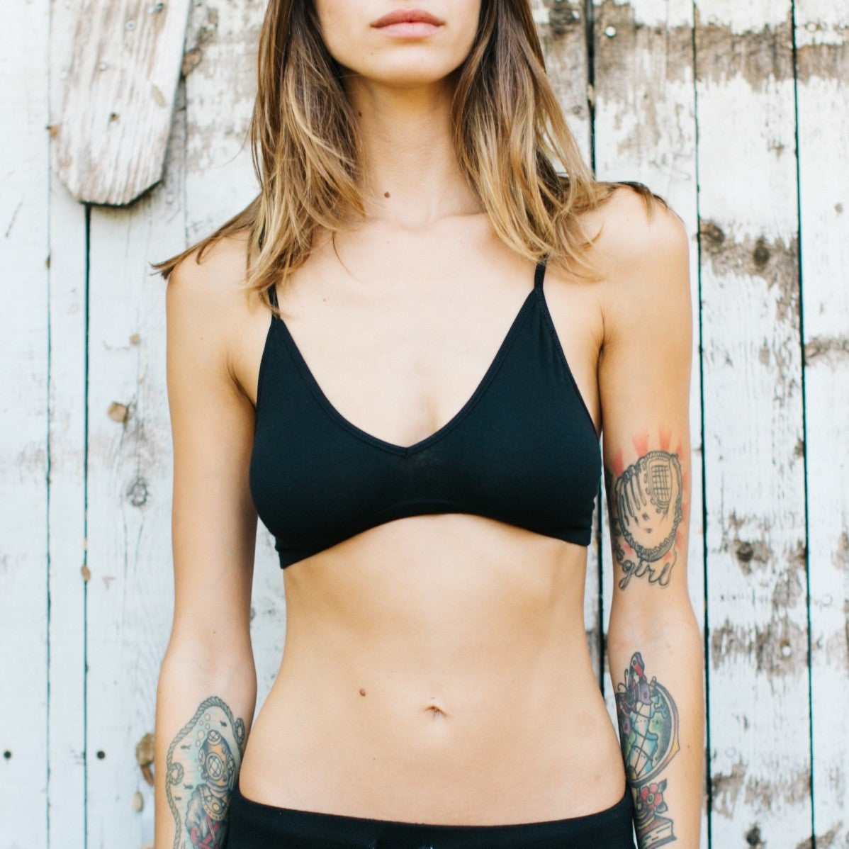 JOAH BROWN Native Bra- Black