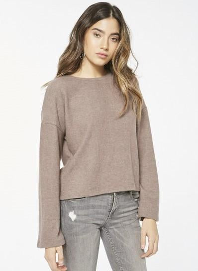 PROJECT SOCIAL T Dancing Cozy Wide Sleeve Sweater