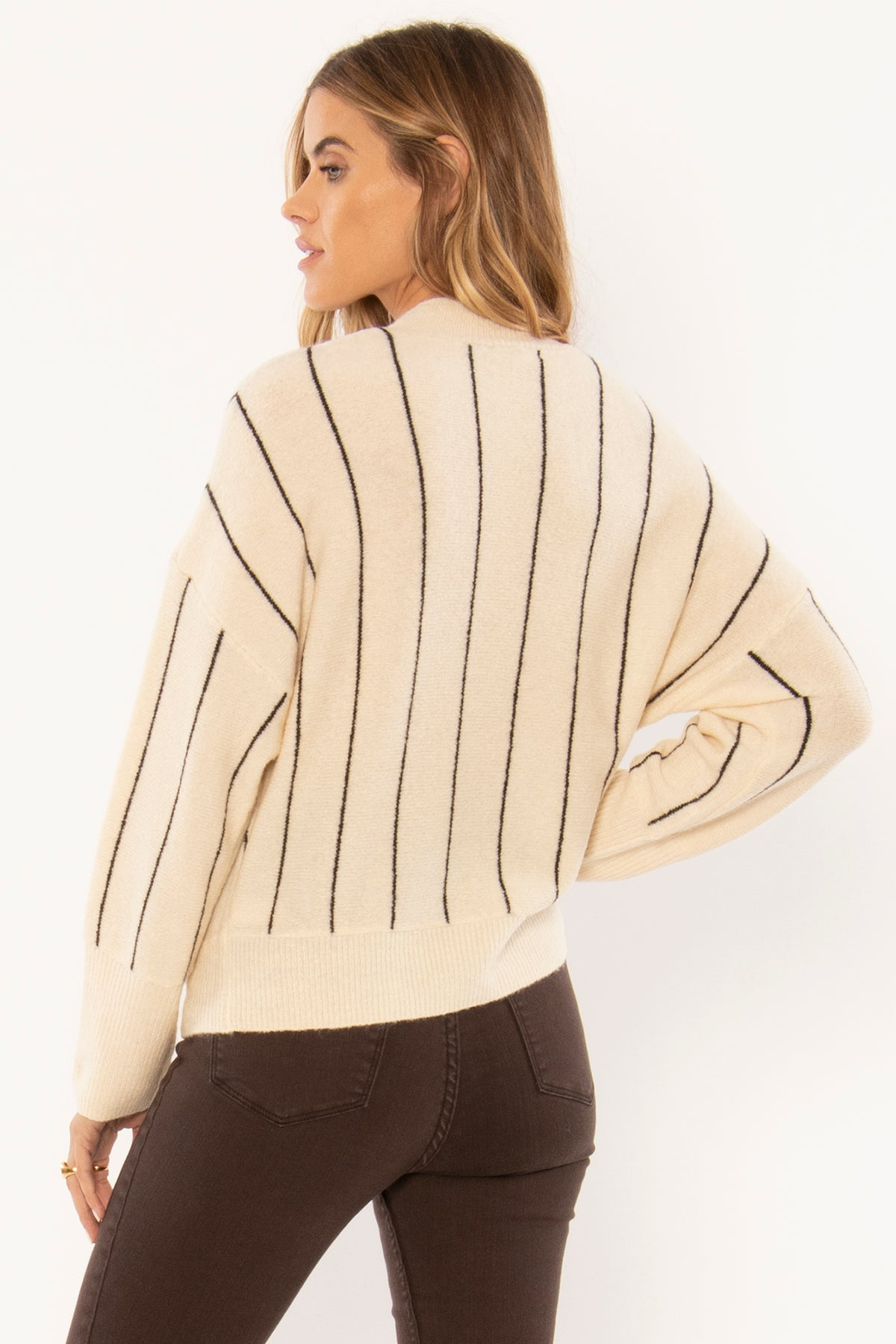 AMUSE SOCIETY Aline Sweater- Shell