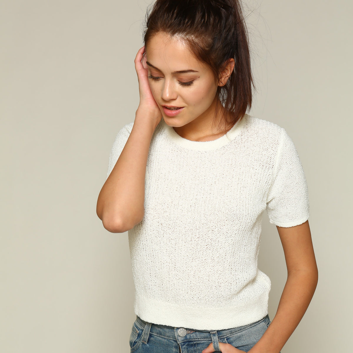 LINE AND DOT Cassia Sweater