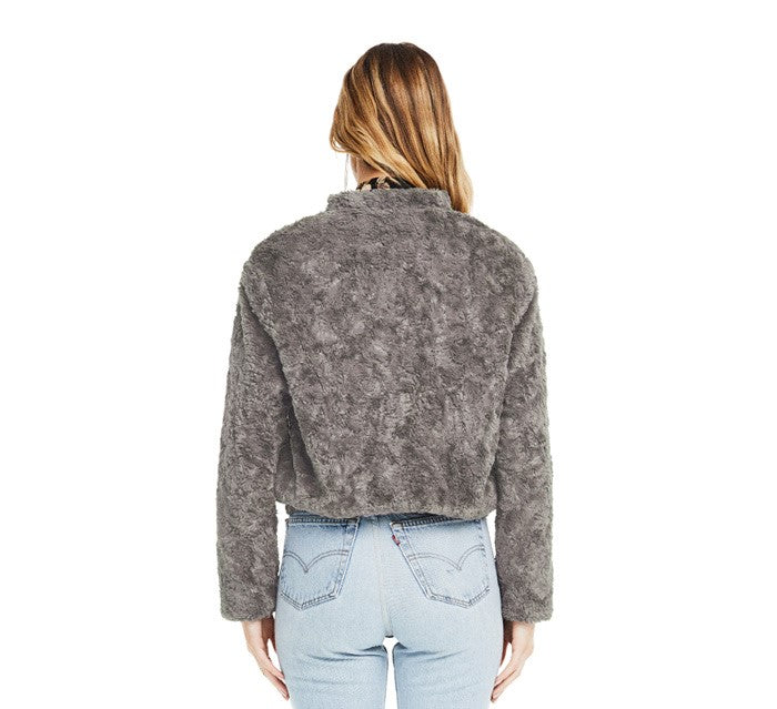 ASTR Danika Jacket- Ash Grey