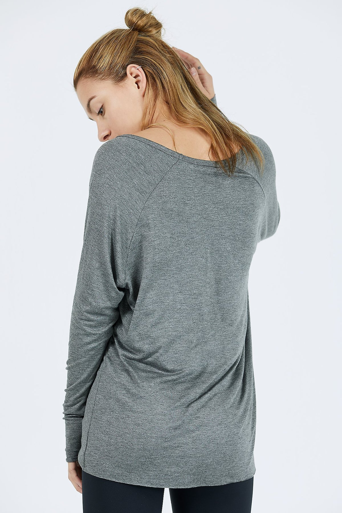 JOAH BROWN For Keeps V- Neck- Gravel