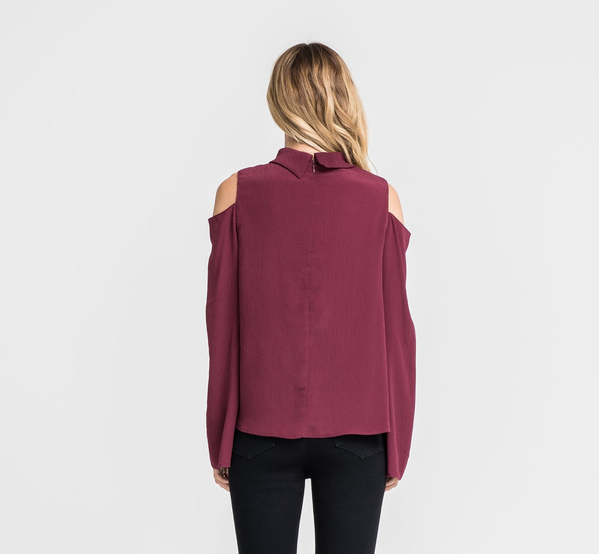 LUSH Dawn Cold Shoulder Top