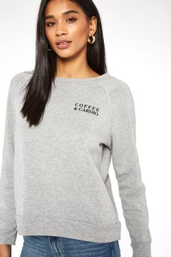 Project Social T Coffee/Wine Reversible Sweatshirt