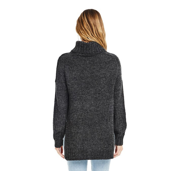 ASTR Stacy Sweater- Charcoal