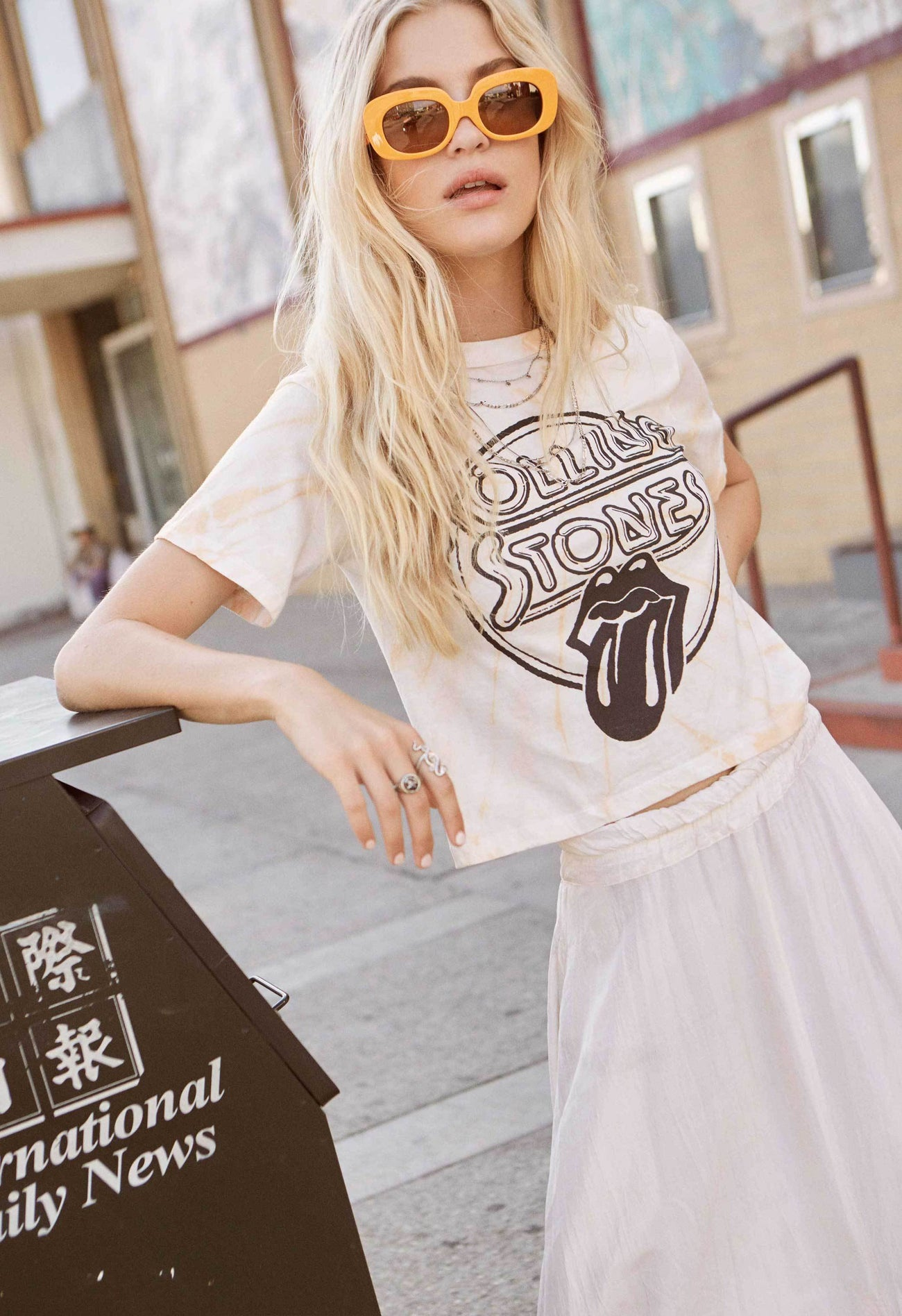 DAYDREAMER Rolling Stones Crop