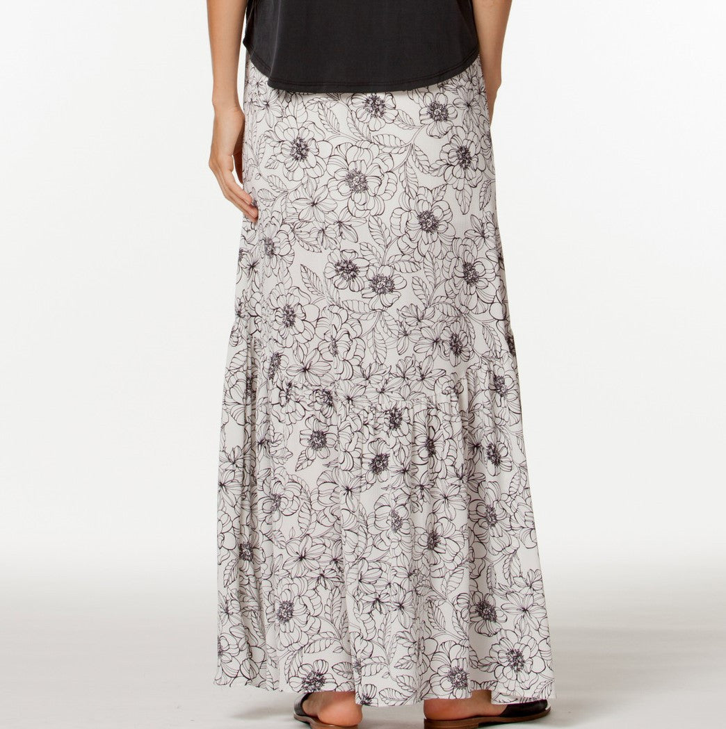 Isabella Skirt- Black/White