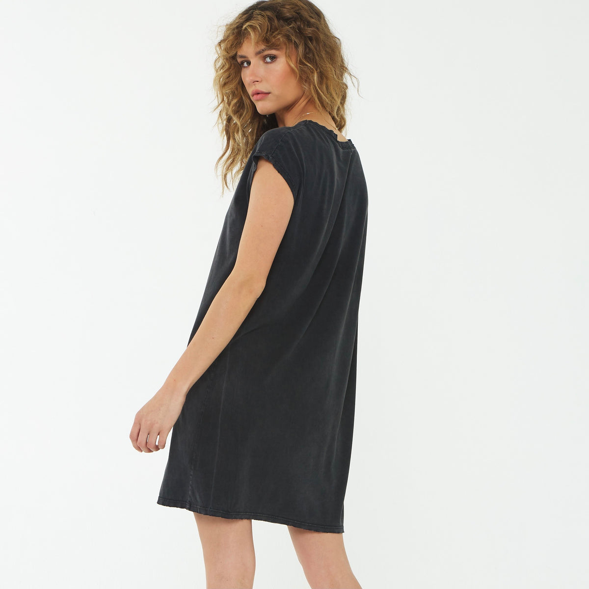 PROJECT SOCIAL T Wave Washed Dress