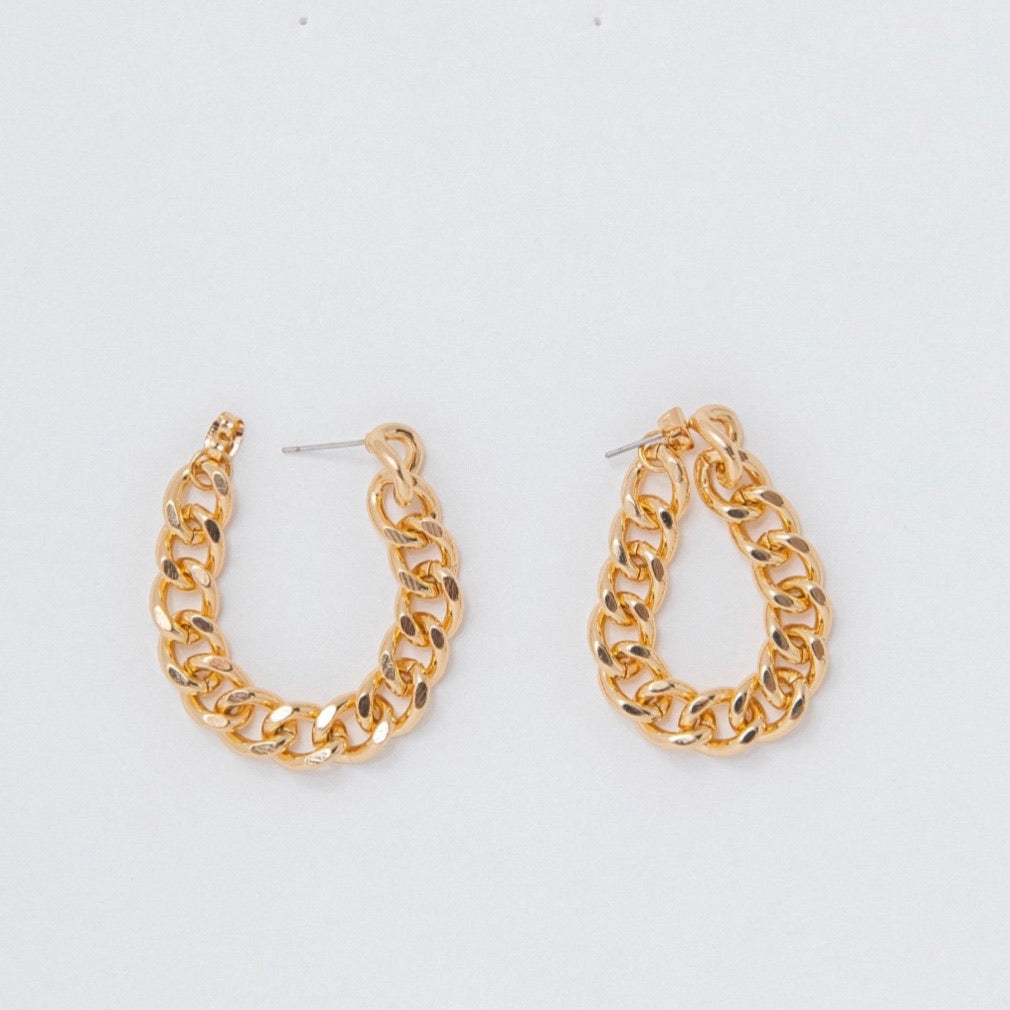 PETIT MOMENTS Wrap Chain Earrings