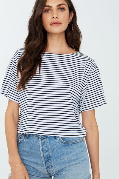 PROJECT SOCIAL T Trey Striped Tee