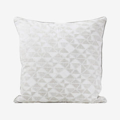 Cairo Chalk Linen Pillow