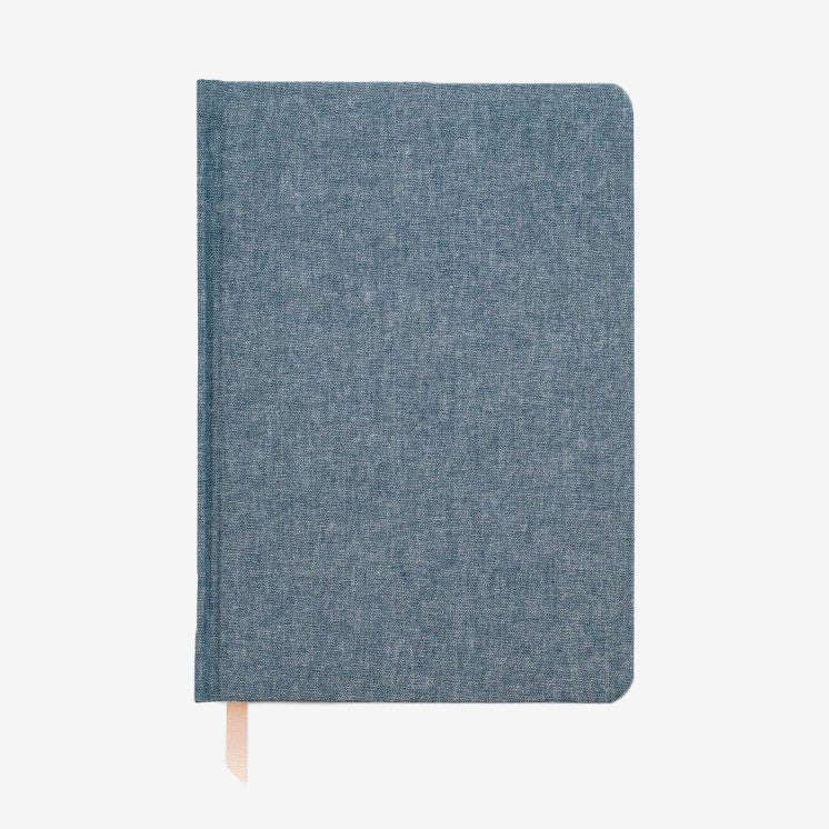 Tailored Journal in Chambray